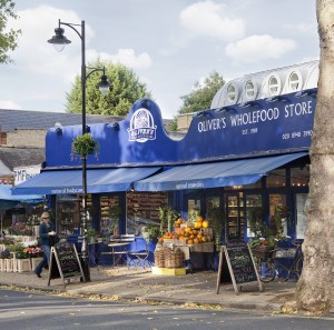 OLIVERS STORE OUTSIDE paul grundy